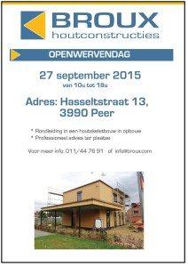 Openwervendag 27/09/2015